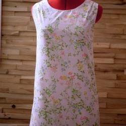 30 Dollar SALE Mod Dress/Tunic Pink